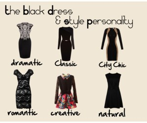 what is best little black dress for your personality type? www.timelessbeauties.ca